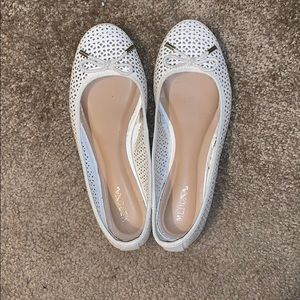 Merona White Bow Flats from Target